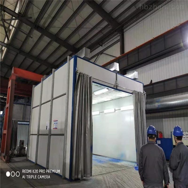 安庆侧吸式喷漆房设备厂家