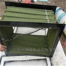 绿帆布风机耐磨通风软连接厂家生产