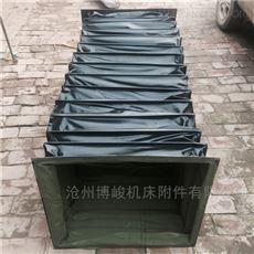机械除尘使用耐磨帆布软连接博峻品牌