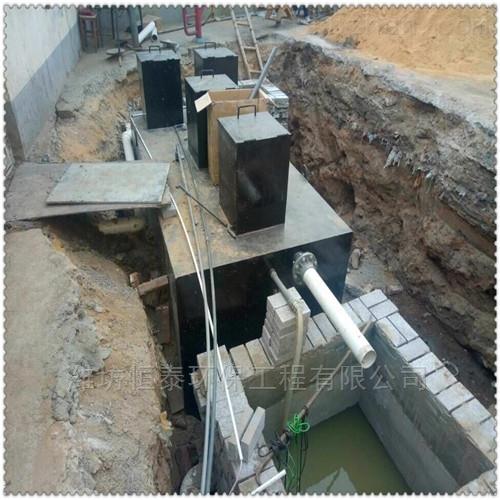 乌鲁木齐地埋式污水处理设备优势