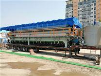 建筑工地打桩泥浆处理压滤机固化设备