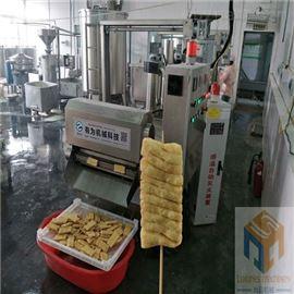 SPYZ-3500一台省人工的全自动豆腐串油炸机