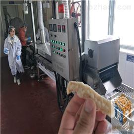 SPYZ-4500全自动小酥肉浸浆油炸生产线诸城尚品机械