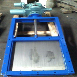 DLMD电动插板阀电动