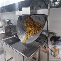 自动搅拌的腐竹片油炸锅