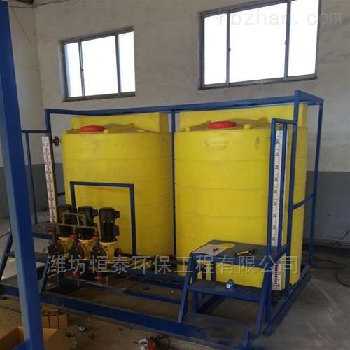 扬州市桶式加药装置的安装