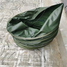 涤纶纯棉帆布收尘连体伸缩布袋厂家