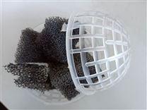 悬浮球填料 聚氨酯填料 生物池球形填料