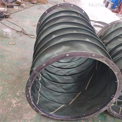 齐全耐高温加强型帆布伸缩式通风管