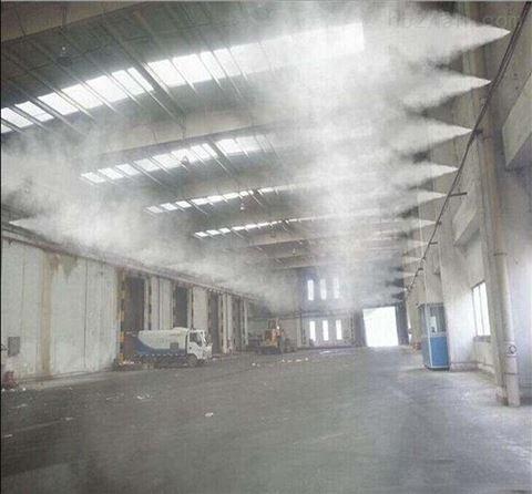 垃圾站喷雾除臭设备