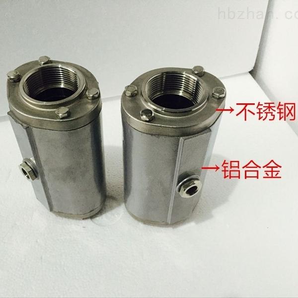 气动螺纹连接管夹阀