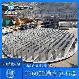 脱硫回收装置槽盘式集液汽液分布器