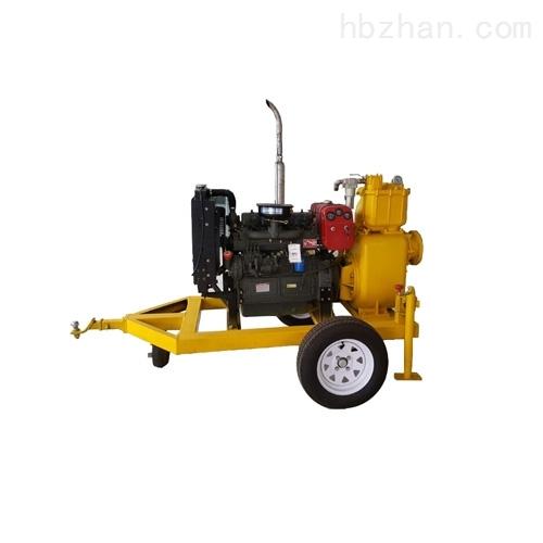 拖车式强自吸双吸柴油机水泵