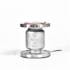 H42W-25P上海思铭H42W不锈钢法兰立式止回阀