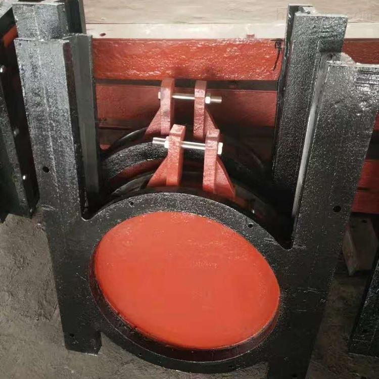 铸铁镶铜圆闸门