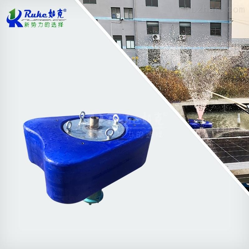 节能式太阳能喷泉曝气设备 水循环曝气机
