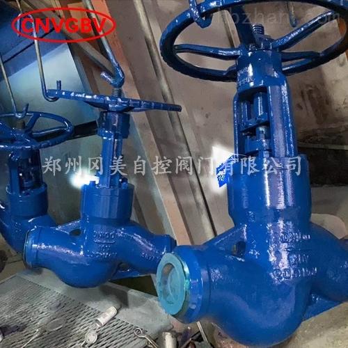 铬钼钢自密封高温高压焊接截止阀J61Y-P54