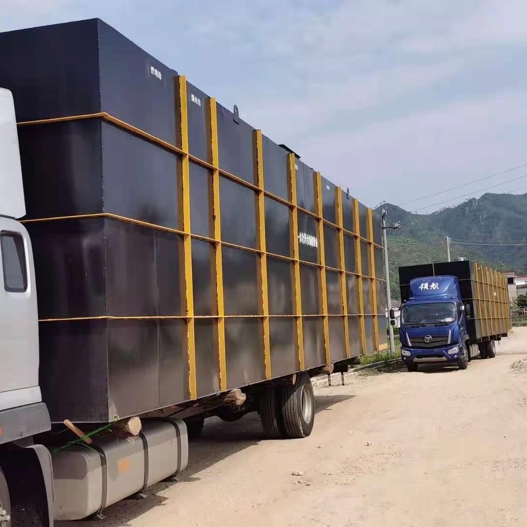日处理100吨农村一体化污水处理设备