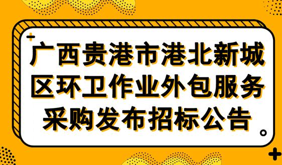 9217萬廣西貴港港北新城區環衛項目招標