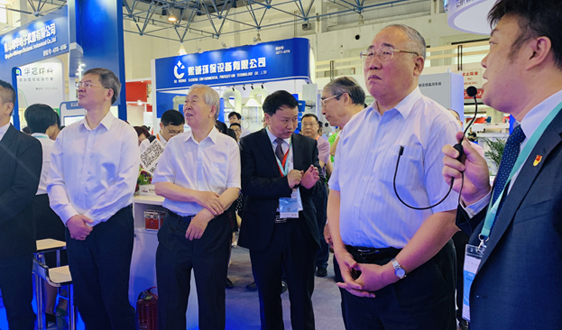 群英荟萃 盛况空前 第十七届中国国际环保展览会正在进行中