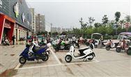 江蘇省濱??h城管局規范非機動車停放美化市容環境