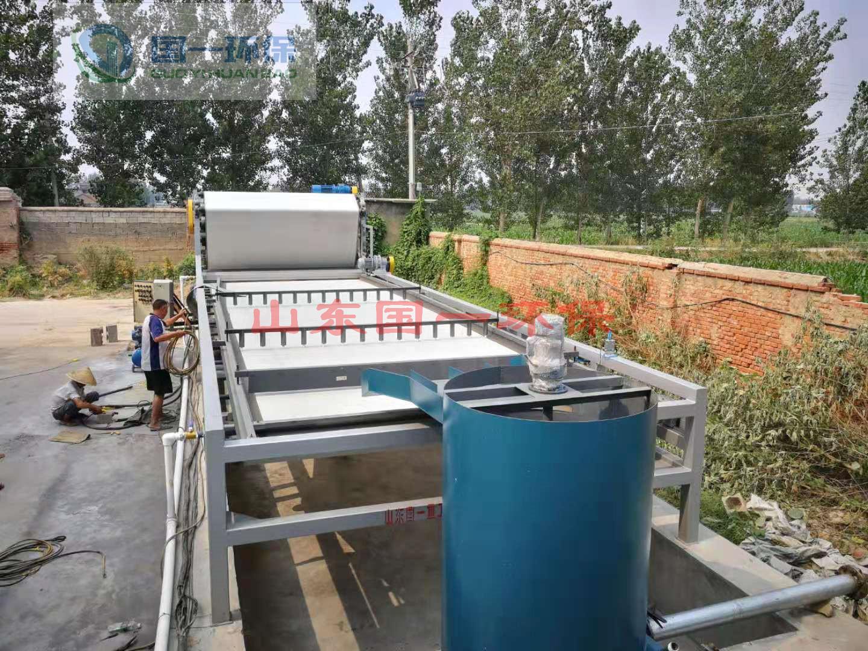 洗沙泥浆脱水设备的调试步骤是怎样的