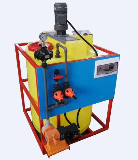 絮凝剂加药装置厂家/水厂全自动加药装置