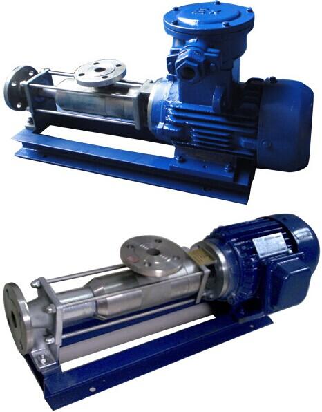G型单螺杆泵特点和用途