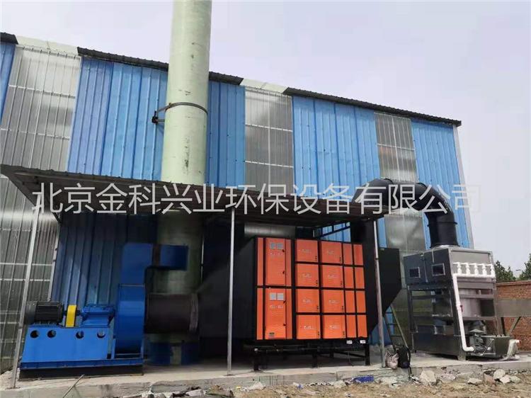 连续炉油烟净化案例(唐山)