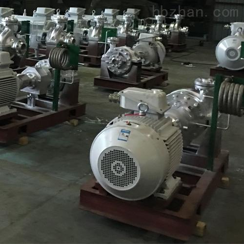 單級單吸石油化工流程泵