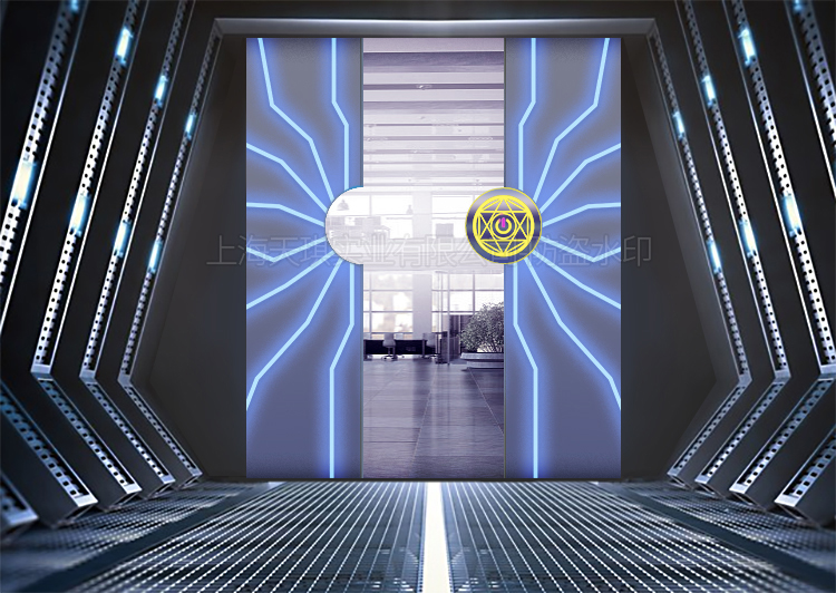 展厅掌纹门