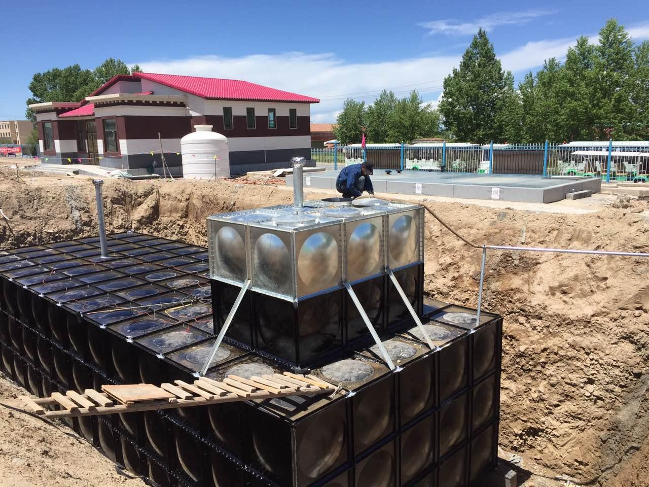 贵州地埋式箱泵一体化顶部过车工程案例
