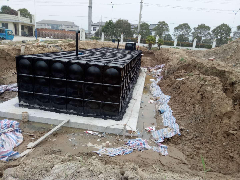 500m3无焊接装配式大模块地埋消防水箱均价