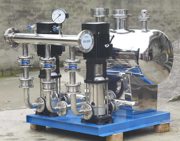 无负压供水设备组成结构图