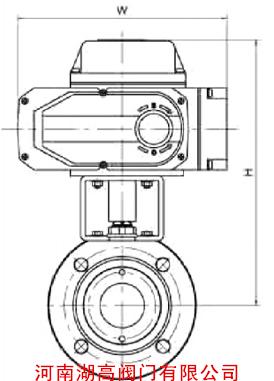 电动意大利式球阀结构图N3