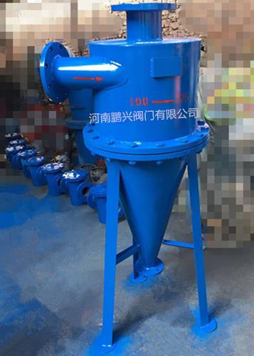 水源热泵机房旋流除砂器可拆卸式