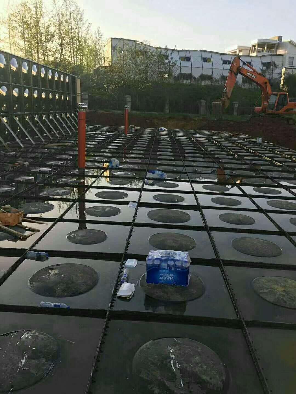 河南新乡880m3室外埋地消防一体化设备