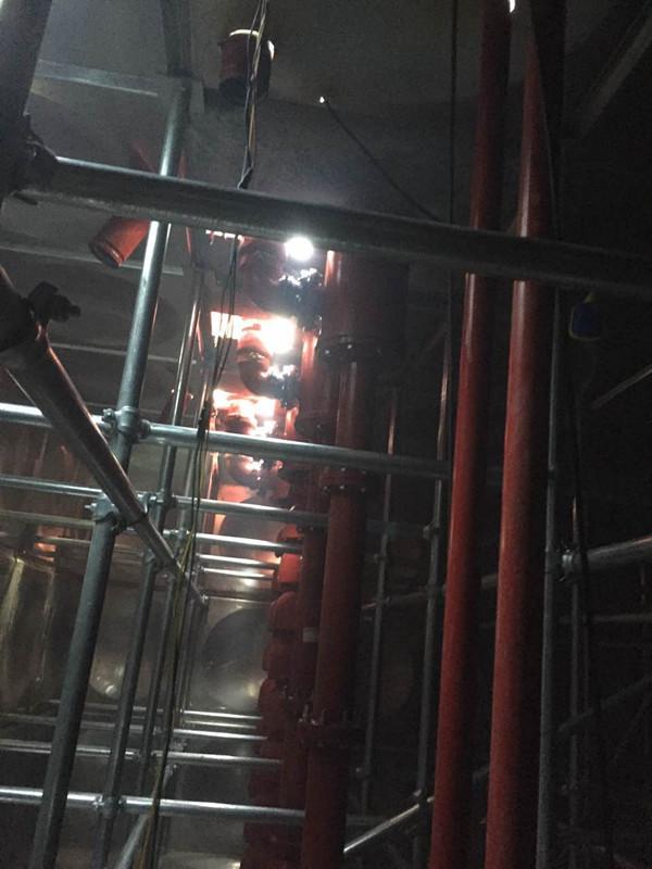 靖江地埋式箱泵一体化生祠商务用房顺利完工