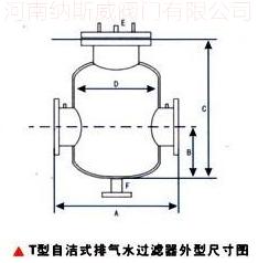 自洁式排气过滤器结构图N