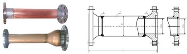 氧气管道阻火器图