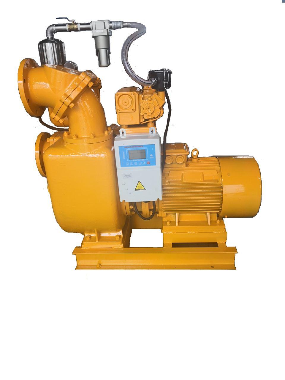 真空辅助自吸式离心泵