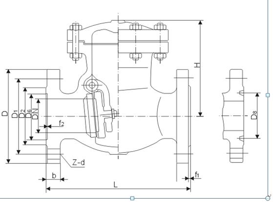 旋启式止回阀结构图.png