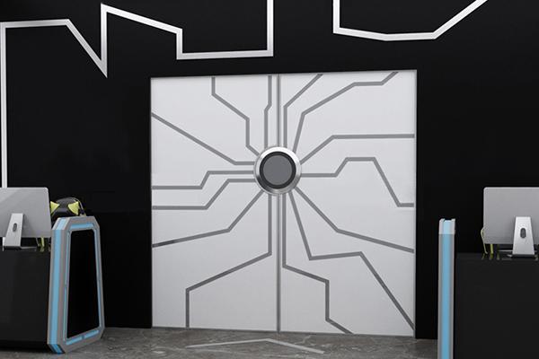 掌纹电子门