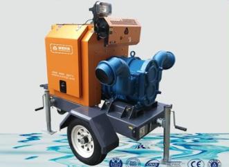 柴油机自吸泵车