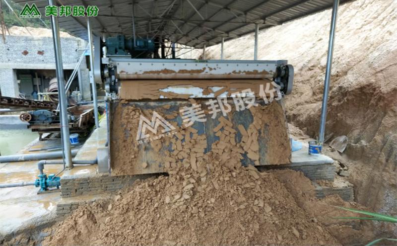紫金洗沙场泥水干化设备