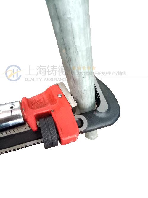SGSX管钳头可调扭矩扳手图片