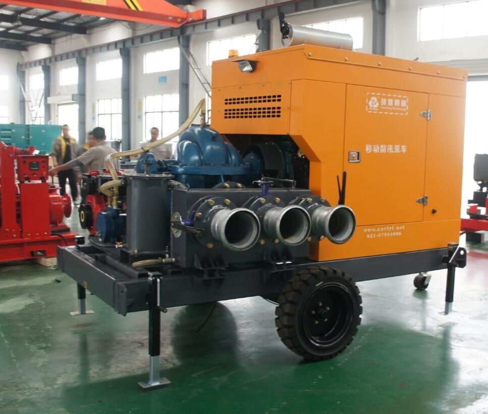 防汛排水泵车
