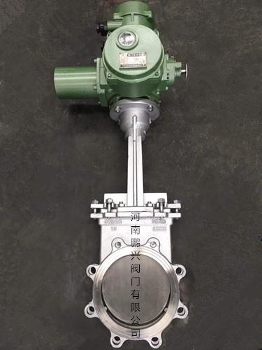 电动高温刀型闸阀1