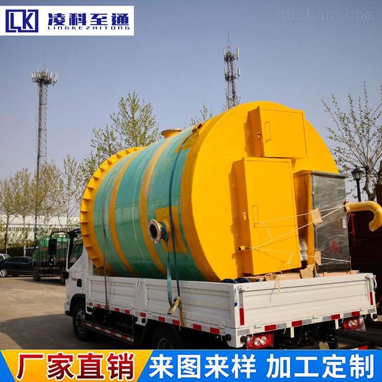 甘孜服务区一体化预制泵站市政给排水泵站