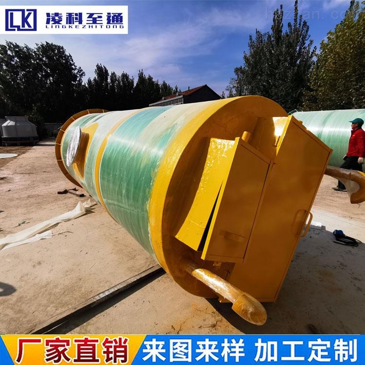 濮阳市政管网一体化提升泵站厂家